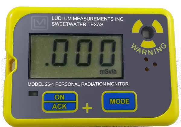 Ludlum Model 25-1 Digital Dosimeter