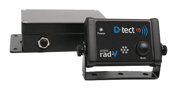 Mini Rad-V Vehicle mounted radiation detection